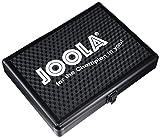 JOOLA Unisex– Erwachsene Tischtennis-Hülle Alukoffer, Schwarz, one size