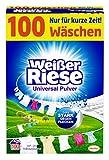 Weißer Riese Universal Pulver, Vollwaschmittel, 100 Waschladungen, extra stark gegen Flecken