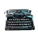 WUYANSE Retro Vintage Schreibmaschine, Display Requisiten Modell handgemachte Dekoration für Home Bar, 24 18 12cm