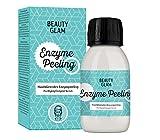 BEAUTY GLAM - Enzyme Peeling Porenverfeinerndes Enzympeeling für das Gesicht, Exfoliator für empfindliche Haut geeignet - Vegan, ohne Farbstoffe, silikon- und parabenfrei - 35gr