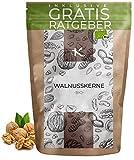BIO Walnusskerne 500g | 100% Bio Walnuss Hälften aus kontrolliert biologischem Anbau inkl. gratis Ratgeber | hochwertige frische Walnuss Kerne Walnuß