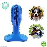 Cleverpets Hundezahnbürste zur Hunde Zahnpflege aus Naturkautschuk - Zahnsteinentferner für Hunde