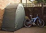 GYPPG Fahrradzelt Fahrradaufbewahrungsschuppen, 190T Fahrradaufbewahrungsschuppen mit Fensterdesign, für Camping im Freien Camping Aufbewahrungsschuppen Zelt, Platz sparen, Reißverschlus