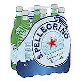 Sanpellegrino   Mineralwasser Medium   Natürlich und feinperlig aus den lombardischen Alpen   Hoher Mineralisierungsanteil   Besonders zum Essen geeignet   6x 1l PET Einweg Flaschen