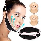Gesichtsmasken, V-Linie Maske, Face-Lifting Maske, Facial SlimmingStrap, Schmerzfreier Gesichtslifting-Verband für Frauen Beseitigt Schlaffes Hautlifting Straffendes Anti-Aging