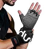 SYOSIN Fitness Handschuhe, Trainingshandschuhe mit Handgelenkstütze und Palm Schutz, rutschfest & Atmungsaktiv Gewichtheben Handschuhe für Krafttraining & Crossfit Trainingm, Damen & Herren