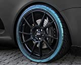 Foliatec 2700 Magic Green Auto Reifenspray Reifenglanz Reifen Glanz Gel Kunststoffpflege Gummipflege ReifenGlanzSpray, Reifenpfleger 400 ml