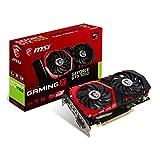 MSI NVIDIA GTX 1050 Gaming X 2G Grafikkarte (HDMI, DP, DL-DVI-D, 2 Slot Afterburner OC, VR Ready, 4K-optimiert)