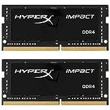 HyperX Impact HX424S14IB2K2/16 Arbeitsspeicher 16GB Kit*(2x8GB) 2400MHz DDR4 CL14 SODIMM