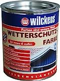 Wilckens Wetterschutzfarbe, RAL 8017 schokoladenbraun, 750 ml 11181700050