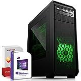 Multimedia Gaming PC AMD A8-7600 4x3.1GHz |ASUS Board|8GB DDR3|1000GB HDD|Radeon R7 Series HDMI|DVD-RW|USB 3.0|SATA3|Sound|Windows 10 Pro|Made in Germany|3 Jahre Garantie