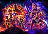 Avengers Foto-tapete Marvel Comics Wall Wandgemälde Custom 3d-tapete Kinder Schlafzimmer Hotel School Zimmer Decor Super Held Breite 200cm * Height140cm pro