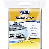 Swirl Kombi-Filter für Flachhauben inkl. Einweghandschuhe, Signalstarke Sättigungsanzeige, 47 x 57 cm