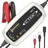 CTEK MXS 10 - Vollautomatisches Batterieladegerät (Grundladung, Erneuerung, Erhaltungsladung von grösseren Auto-, Caravan, Boot-, Wohnmobil-Batterien) 12V, 10 A - EU Stecker