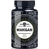 DiaPro® Mangan 365 Hochdosierte Mangan-Tabletten mit 10 mg Mangan pro Tablette aus Mangan-Bisglycinat 365 Stück Jahresvorrat 100% Vegan Laborgeprüft
