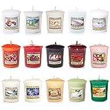 Yankee Candle Set mit 15 Kerzen, verschiedenen Düften