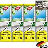 PIC – Fenster-Fliegenfalle – 16 Stück – Giftfreie, Geruchlose Leimfalle zum Fangen von Fliegen und Fruchtfliegen