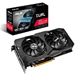 ASUS Dual AMD Radeon RX5500 XT 8GB EVO OC Edition Gaming Grafikkarte (GDDR6 Speicher, PCIe 3.0, 1x HDMI 2.0b, 3x DisplayPort 1.4, DUAL-RX5500XT-O8G-EVO)
