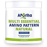 APOrtha Multi essential Amino Pattern I 362 g Aminosäurenpulver mit 8 essentiellen Aminosäuren nach Prof. Dr. Lucà- Moretti für optimierte Eiweißversorgung I Aminosäuren komplex hochdosiert EAA