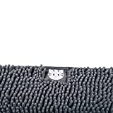 Trixie 40231 Vorleger für Katzentoiletten Mimi, 38 × 60 cm, grau
