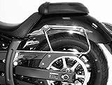 H&B Motorrad-Satteltaschen-Trägersystem Packtaschenhalter für Yamaha XVS 950 A Midnight Star Chrom, Unisex, Ganzjährig, Stahl