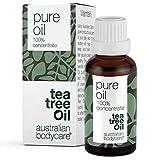 Australian Bodycare Tea Tree Oil | Teebaumöl gegen Pickel im Gesicht | Ätherisches Öl für unreine Haut, Kopfhaut, Haare | Pflege bei Akne, Fußpilz, Nagelpilz