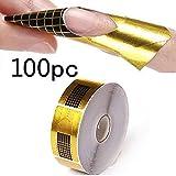 Broadroot 100 Nagel-Formen für Acryl-UVgel-Nagel-Kunst-Spitzen-Verlängerung