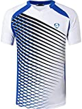 jeansian Herren Sportswear Quick Dry Short Sleeve T-Shirt LSL230 White XL