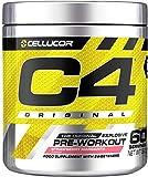 C4 Original - Pre-Workout-Booster - Erdbeer-Margarita | Getränkepulver für Energy Drink | 150 mg Koffein + Beta-Alanin + Kreatin-Monohydrat | 60 Portionen