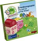 HABA 5590 - Meine erste Spielwelt Bauernhof - Zuordnungsspiel Wie und wo auf der Wiese