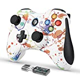 EasySMX Game Controller, 2.4G Wireless Gamepad, Dual Vibration, 8 Stunden Spielzeit für PS3 / PC/Android, Tablets, TV-Box