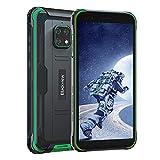 Blackview BV4900 Outdoor Smartphone Ohne Vertrag (Android 10, 5580mAh Akku, 32 GB interner Speicher, 3GB RAM, 5.7 Zoll HD+ Display, Dual SIM, NFC) - Exklusive Blackview IP68 Wasserdicht Handy Grün