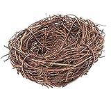 Bird Nest Home Handmade Vine Zweig Natur Handwerk Urlaub für Foto Garten Dekor Hochwertige