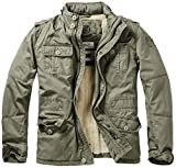 Brandit Britannia Winter Jacke Oliv XL