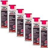 Markierungsspray 6 x 500 ml (3 Liter) Neon-Pink für saubere und präzise Markierungen mit flexibler 360° Sprühanwendung (Überkopffunktion) auch für feuchte Untergründe und Minustemperaturen