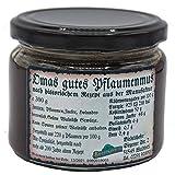 Pflaumenmus Spezialität - Omas gutes Pflaumenmus, 300g, hergestellt nach historischem Rezept