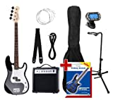 Rocktile Groover's Pack PB E-Bass Black Set III