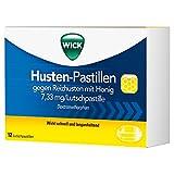 Wick Husten-Pastillen gegen Reizhusten Lutschpastillen, 12 St. Tabletten