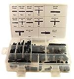 Craft-Equip 113 tlg. Schlauchverbinder Set T-Stück Verbinder Reduzierstück KFZ