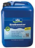 Söll 14422 BioBooster Teichbakterien für klares Wasser rein biologisch 2,5 l - hochaktive Klarwasserbakterien reduzieren Nitrit Nitrat im Gartenteich Fischteich Schwimmteich Koiteich