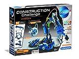 Clementoni 59132 Galileo Science – Construction Challenge Hydraulik, Bausatz für einen hydraulischen Arm, Mechanik & Technik, Spielzeug für Kinder ab 8 Jahren, Mehrfarben