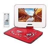Wimaha Kompakt DVD Player HDMI Alle Region Frei Unterstützung SD Karte USB Festplatte CD DVD AV-In-Out mit 9' LED Anzeige und Vollfunktions Fernbedienung
