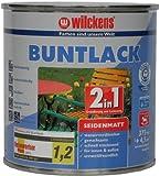 Wilckens 2in1 Buntlack seidenmatt, RAL 6005 moosgrün, 375 ml 12460500030