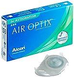 Alcon Air Optix for Astigmatism Torische Monatslinsen weich, 3 Stück / BC 8,7 mm / DIA 14,5 mm / CYL 0,75 / ACHSE 150 / -6 Dioptrien