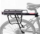 COMINGFIT 50kg Kapazität Einstellbare Fahrrad Gepäck Cargo Rack-Super Starke Upgrade Fahrrad Gepäckträger