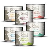 MjAMjAM - leckere Mahlzeiten Mixpaket III für Deine Katze 6 x 200 g