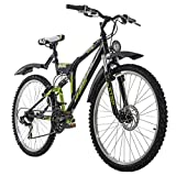 KS Cycling Mountainbike ATB Fully 26' Zodiac schwarz RH 48 cm