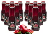 12Fl. x 1L Saville Granatapfel Direktsaft / 100% Granatapfelsaft / Muttersaft / Grenade juice