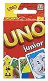 Mattel Games 52456 - UNO Junior Kartenspiel für Kinder, Kinderspiele geeignet für 2 - 4 Spieler ab 3 Jahren