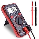 Digital Multimeter Durchgangsprüfer Multimeter Voltmeter, AC/DC Multi Tester Spannung, Strom, Widerstand, 2 Jahre Garantie von BEVA